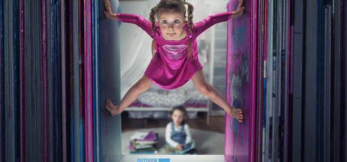 Just a little Supergirl